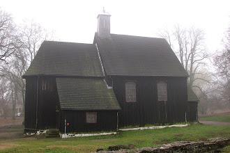 Photo: Drewniany kościół p.w. św. Jana Chrzciciela z XVIII w. w Gieczu