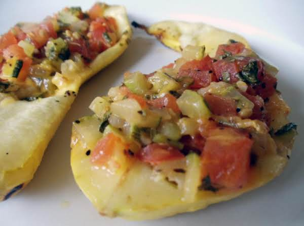Grilled & Stuffed Squash Recipe