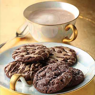 Chocolate Chai Latte Cookies.