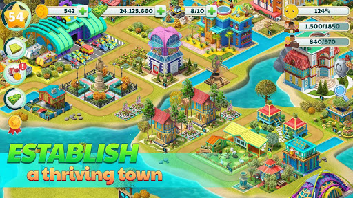 Town City – Village Building Sim Paradise Game 4 U poster