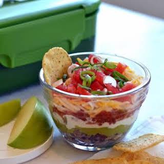 Gluten-Free Tex Mex Bean Dip Snacks.