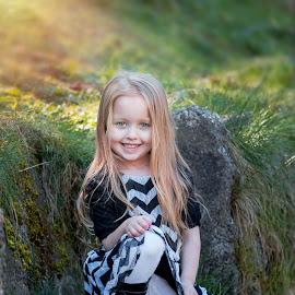 Makayla by Jenny Hammer - Babies & Children Child Portraits ( pretty, girl, sunny, portrait, summer, child )