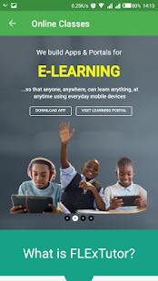FLExTutor eLearning App - náhled