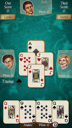 Euchre Free screenshot 2