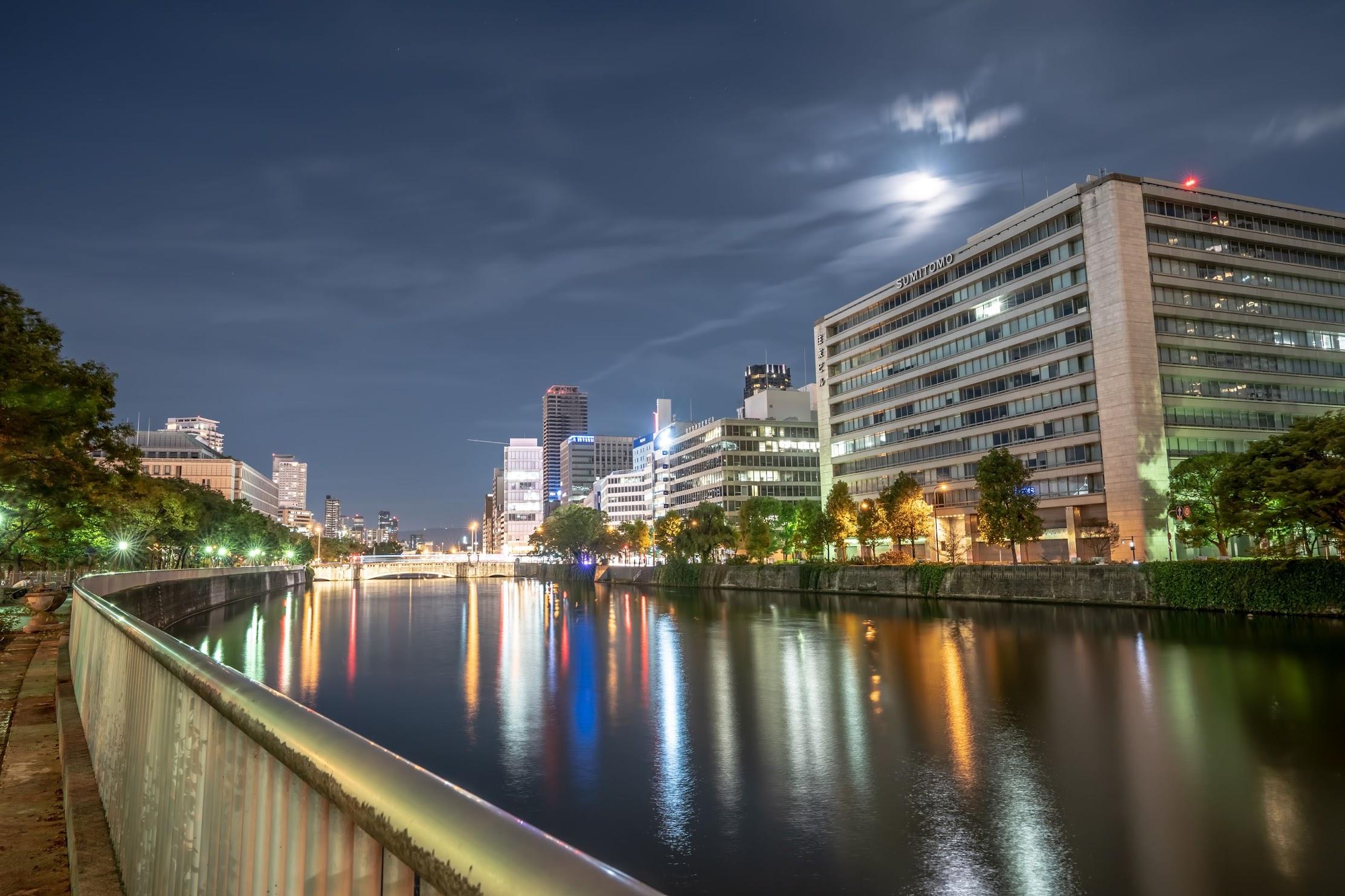Osaka Nakanoshima evening3