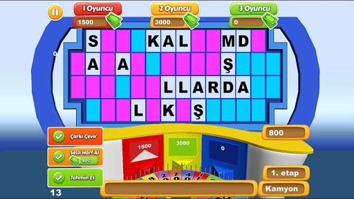 Carkifelek Turkce Kelime Oyunu