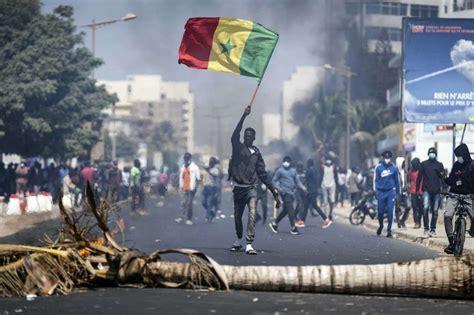Masseprotester Senegal 2021 4