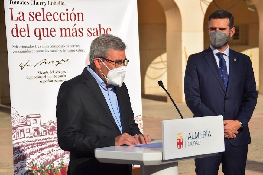 Palabras de Pedro Caparrós, director general del Grupo Caparrós.