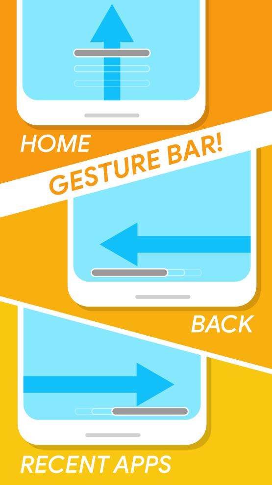 Navigation Gestures - Swipe Gesture Controls! Screenshot 1