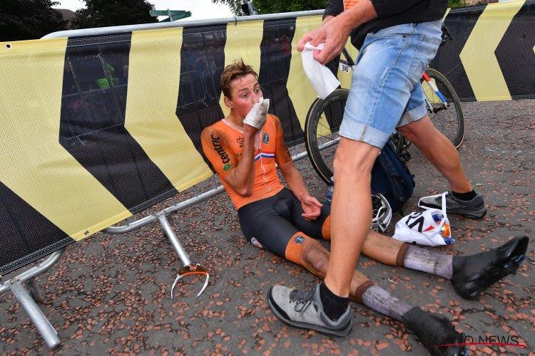Mathieu van der Poel verovert met Nederland 9e plek en doet zo beter dan België