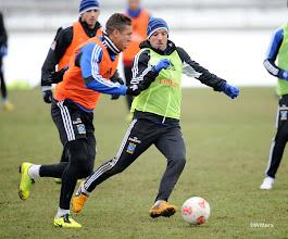 Photo: v.l. Jeffrey Bruma, Rafael van der VaartFussball, Hamburger SV, Training