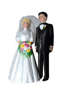 Brudpar, 11,5 cm