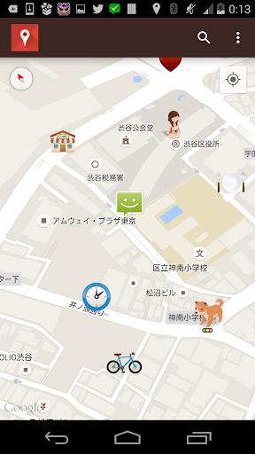 地図メモ - シンプルな無料のマップアプリ- ナビとも連携