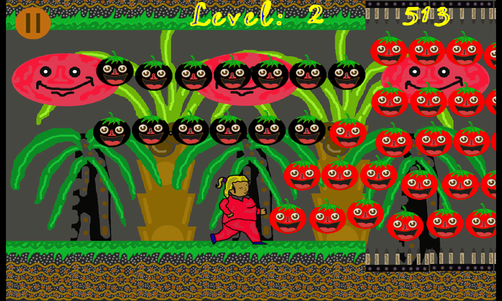 Tomatoes Mama World- screenshot