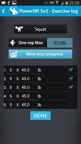 Powerlift Exercise log APK | APKPure ai