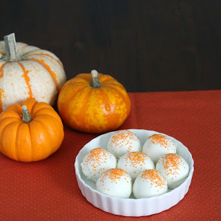Pumpkin Pie Cream Cheese Truffles