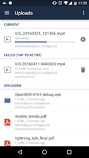 ownCloud- screenshot thumbnail
