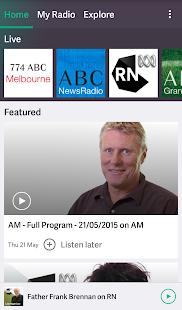 ABC Radio - screenshot thumbnail