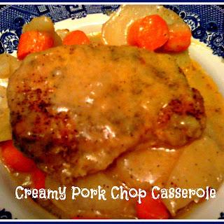 Creamy Pork Chop Casserole!