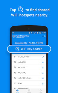 Screenshots of WiFi Master Key - by wifi.com for iPhone