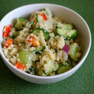 Cucumber, Grape, and Herb Quinoa Recipe