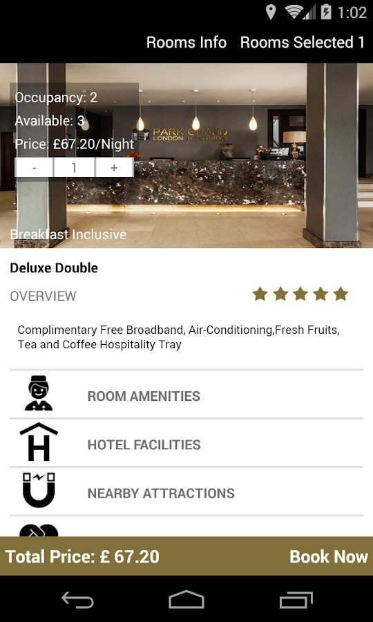 Park Grand London Hotels- screenshot