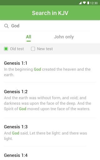 King James Bible (KJV) screenshot 9