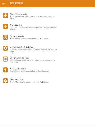 Circle Alerts for PUBG 1.1.0 screenshots 6