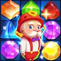 Grandpa's Gems - Match Free Games icon