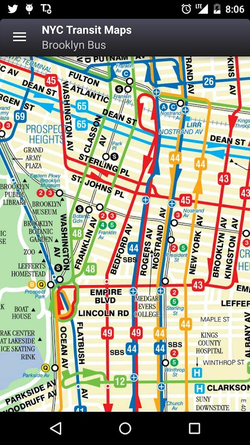 new york subway map app