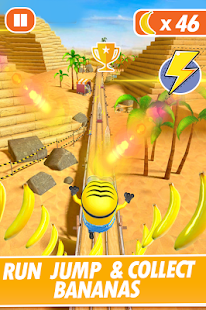 Banana Minion Adventure Rush : Legends Rush 3D Screenshot