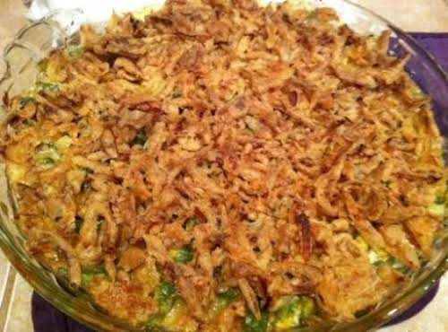 "Fresh Green Bean Casserole ""This is something that I put together myself..."