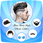 Tải Men Hair Style Set On Face APK
