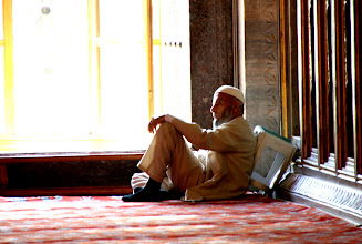 Photo: Day 110 - A Time for Reflection in the Blue Mosque
