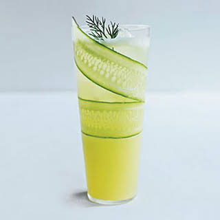 Cucumber-Lemonade Mocktail.