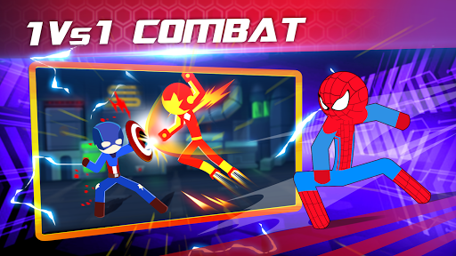 Super Stickman Heroes Fight screenshots 1