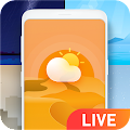 Weather Live Wallpaper for Free APK