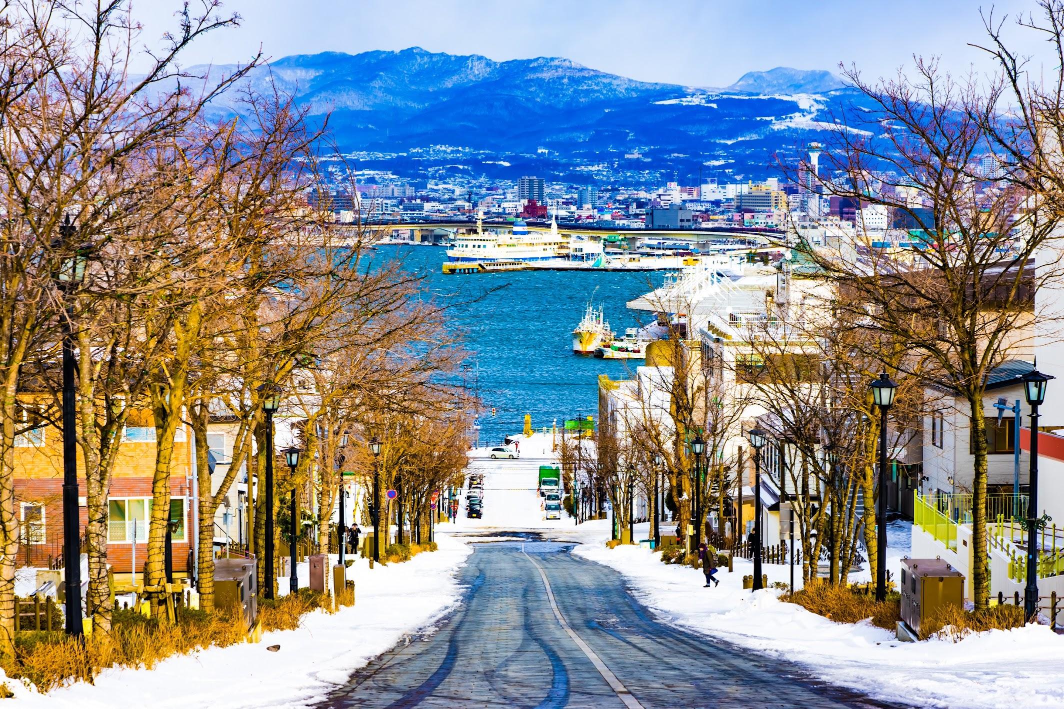 Hakodate Hachiman-Zaka Slope2