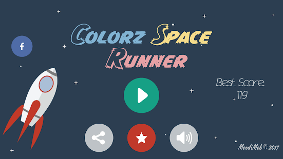 Colorz Space Runner - náhled