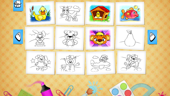 123 Kids Fun COLORING BOOK Pro Screenshot Thumbnail