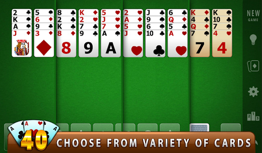 FORTY THIEVES SOLITAIRE - Apps on Google Play