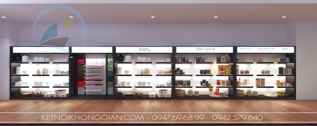 thiết kế cửa hàng đồ gia dụng cao cấp Kathy 8