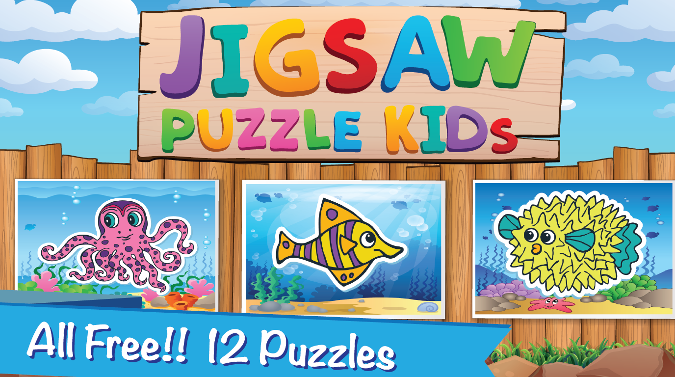 kid ocean games puzzle jigsaw android apps on google play