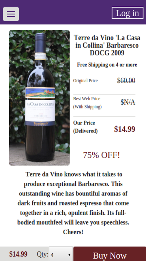 Wines Til Sold Out  (WTSO)- screenshot