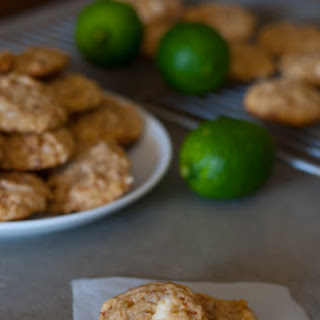 White Chocolate Lime Coconut Cookies Recipe