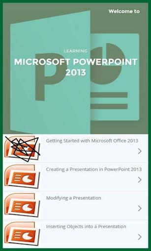 Learn Powerpoint 2013