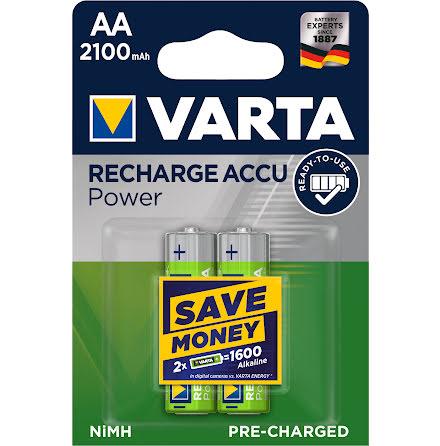 VARTA ACCU POWER R2U AA 2100mAh 2-PACK