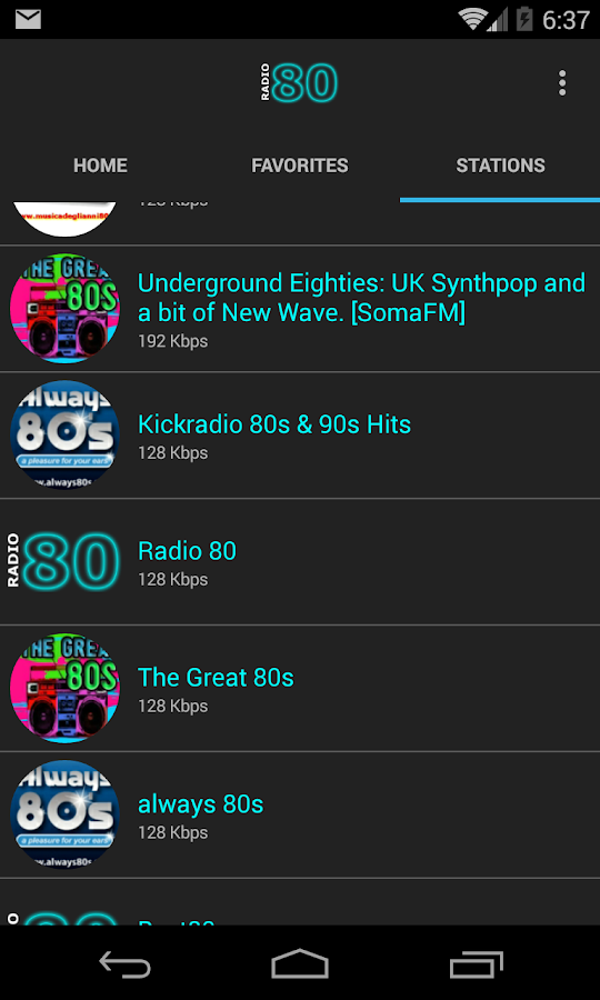 80s Music- screenshot