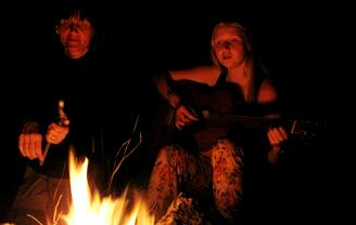 Вечером у костра • #voronovcamp 2011