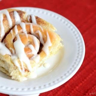 Cake Mix Cinnamon Rolls